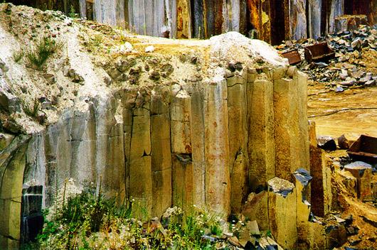 Базальтовы столбы