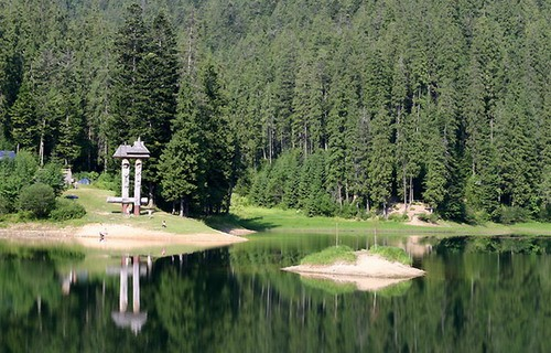 Озеро Синевир ворота