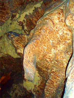 Пещера хрустальная. Слон
