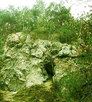 Вход в Хрустальную пещеру