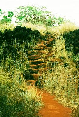 Каменные ступени - оригинальный розмер