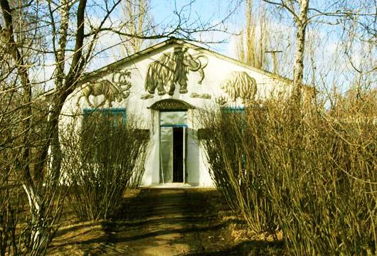 Добраничевская стоянка. Вход в музей