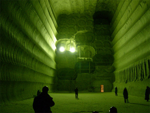 Соледарская соляная пещера