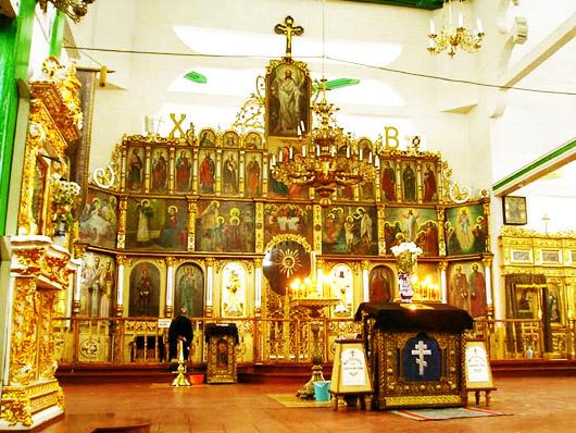Троицкий Собор. Внутри собора