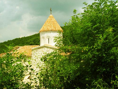 монастырь Сурб Хач после реставрации