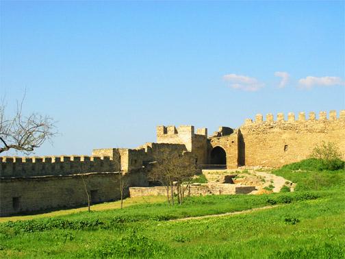 Гражданский двор крепости
