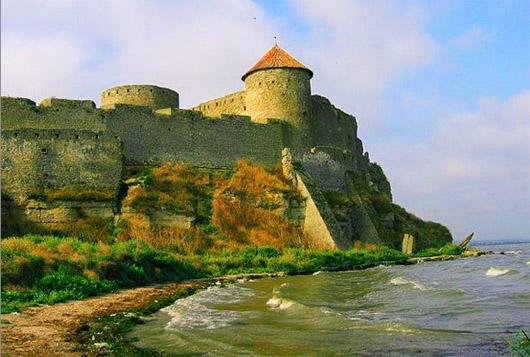 Аккерманская крепость у берега Днестра