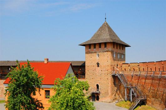 Луцкий замок или замок Любарта. Башня