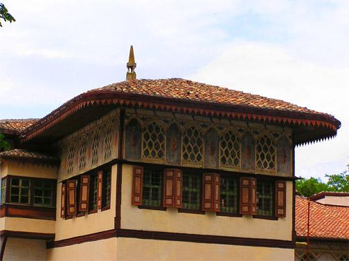 Вид на Золотой кабинет снаружи