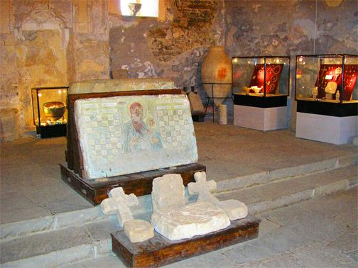 Генуэзская (Судакская) крепость. В музее