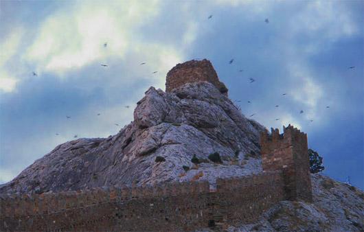 Генуэзская (Судакская) крепость. Девичья башня