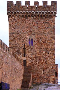 Генуэзская (Судакская) крепость. Консульский замок