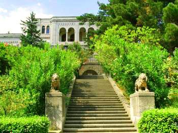 Юсуповский Дворец. Лестница ко дворцу