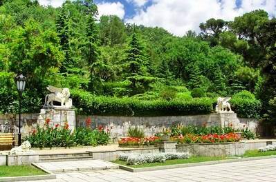 Юсуповский Дворец. Территория дворца