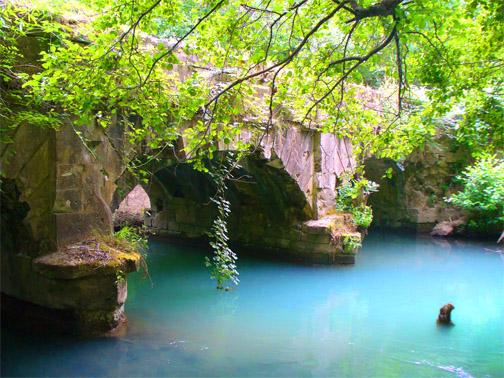 Мост на реке Черная