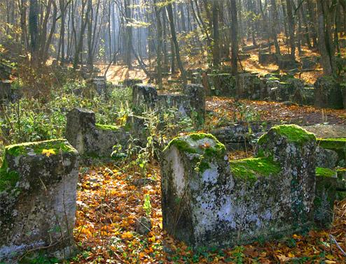 Пещерный город Чуфут-Кале. Старое кладбище