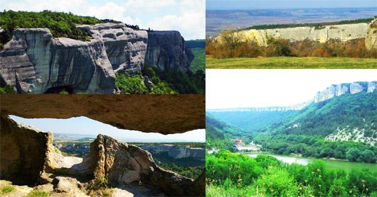 Пещерные города-крепости  Эски-Кермен и Мангуп-Кале