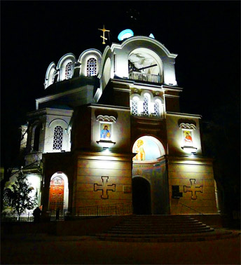 Форосская церковь - церковь Воскресения Христова