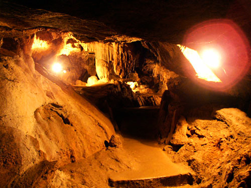 Красные пещеры или Кызыл-Коба