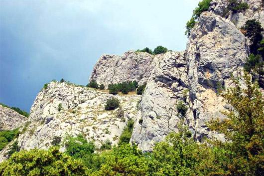 Шайтан-Мердвен или Чертова лестница. Рай для скалолазов