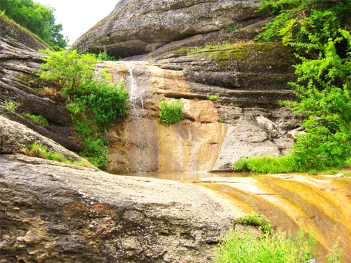 урочище Демерджи. Водопад Джурла