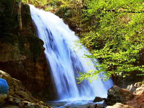 урочище Демерджи. Водопад Джур-Джур