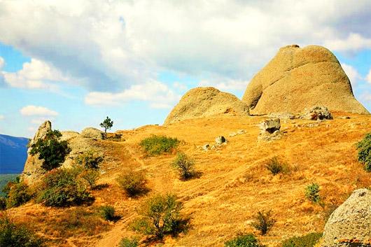 Урочище Демерджи. Южные склоны горы