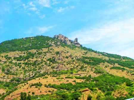 Гора Демерджи. Южные склоны горы