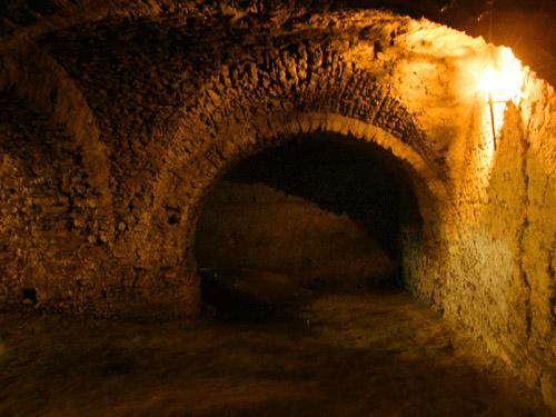 Дубенский замок, подземелье