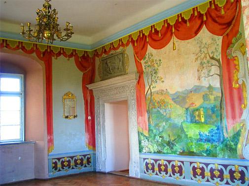 Комнаты Олеского замка
