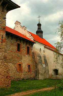 Замок князей Острожских.
