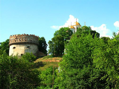 Замковый комплекс в Остроге