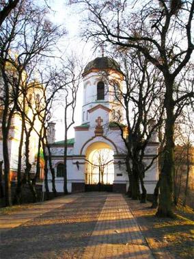 Замок князей Острожских. Въезд в Острожский замок