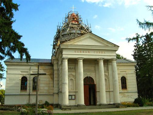 Замок князей Острожских. Костел