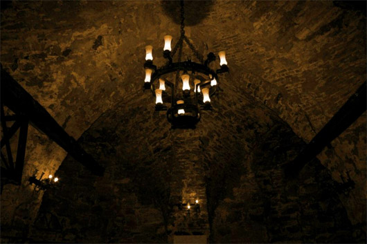 Замок князей Острожских. Подземелье