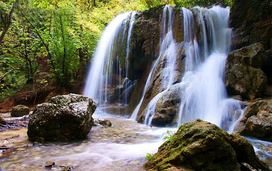 Водопад Серебряные струи или Водопад Серебряный