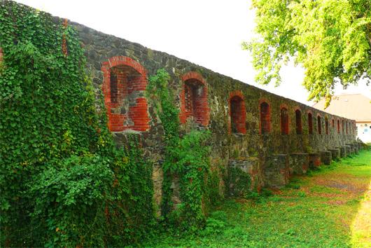 Оборонительная стена Ужгородского замка
