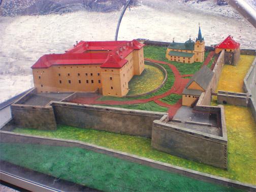 Макет Ужгородского замка