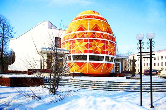 Музей Писанка зимой