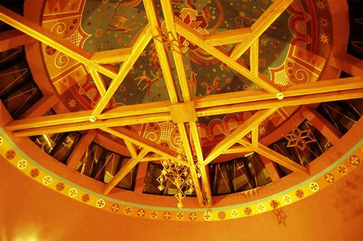 Музей Писанка в Коломые. Второй этаж - экспозиции писанок