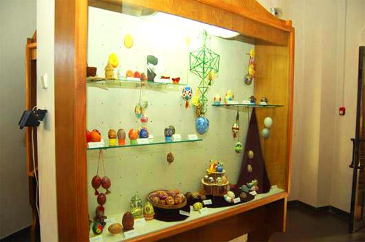 Музей Писанка. Второй этаж - экспозиции писанок