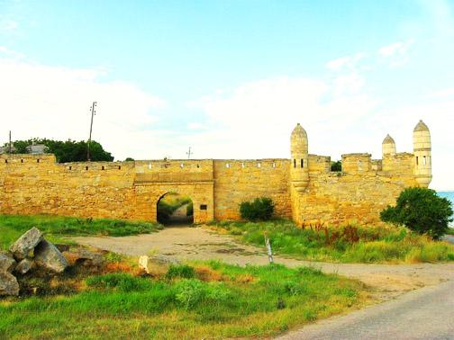 Крепость Ени-Кале на Керченском полуострове