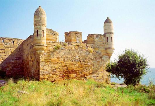 Турецкая крепость Ени-Кале на Керченском полуострове