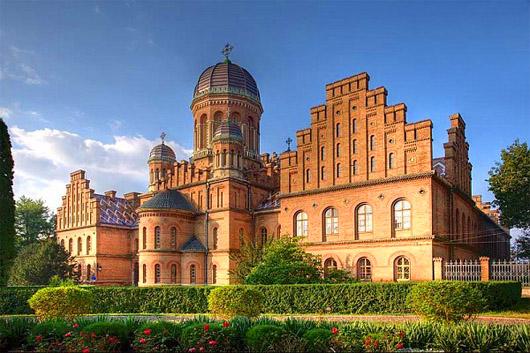 Черновицкий Национальный Университет. В ботаническом саду