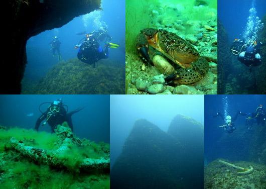Мыс Сарыч. Под водой