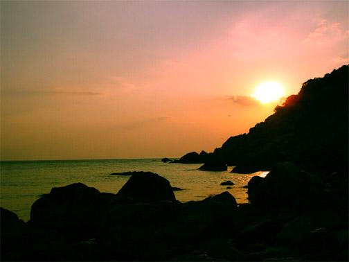 Мыс Сарыч на закате