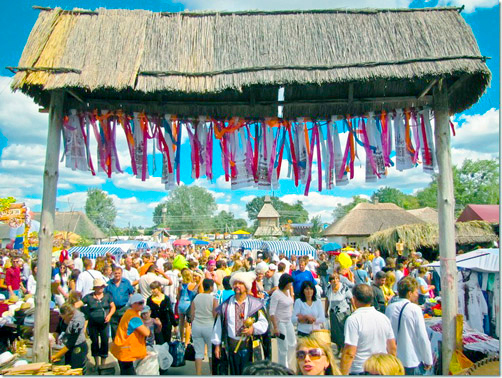 Национальная Сорочинская ярмарка в Великих Сорочинцах