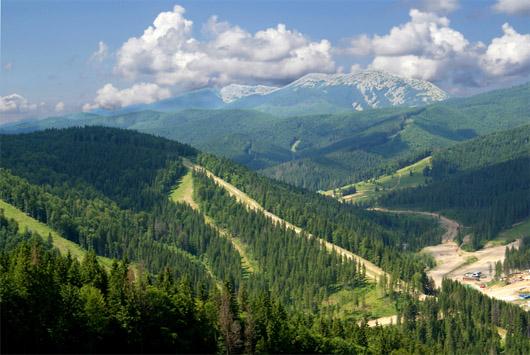 Горы Буковеля