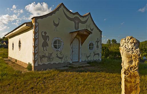 Музей этнографии в селе Буша