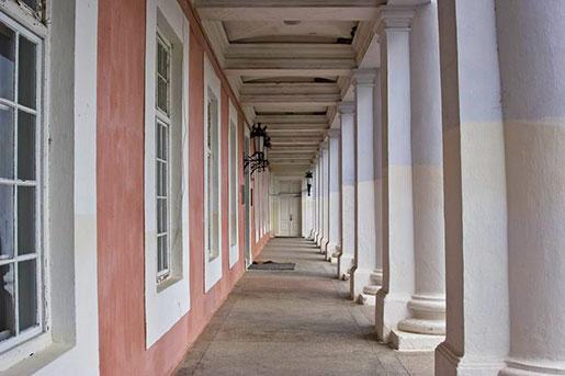 Колонны дворца Потоцких